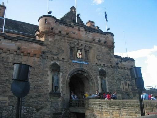 爱丁堡城堡正门